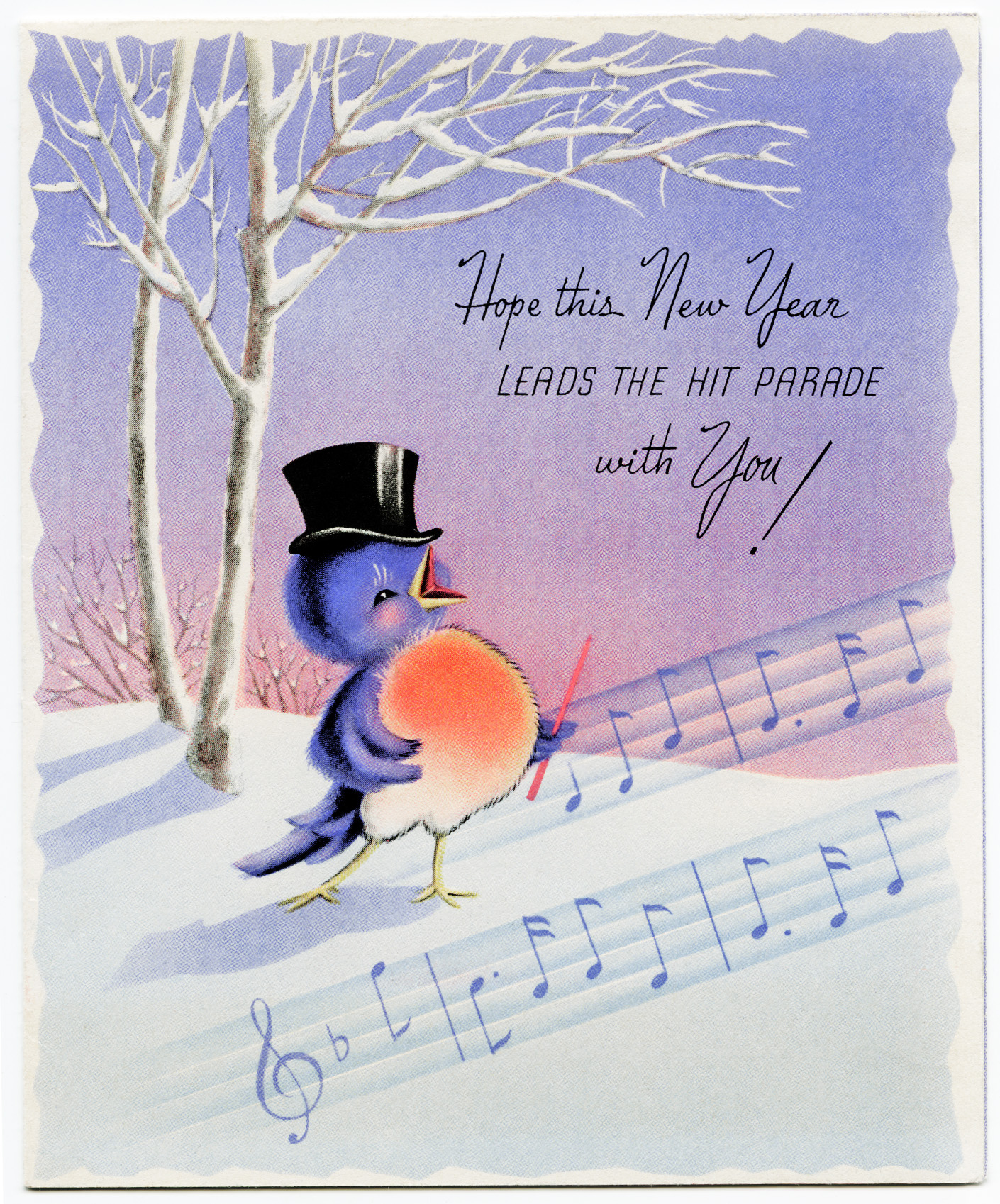 Wordless Wednesday-Some Old Wishes for the New Year ...